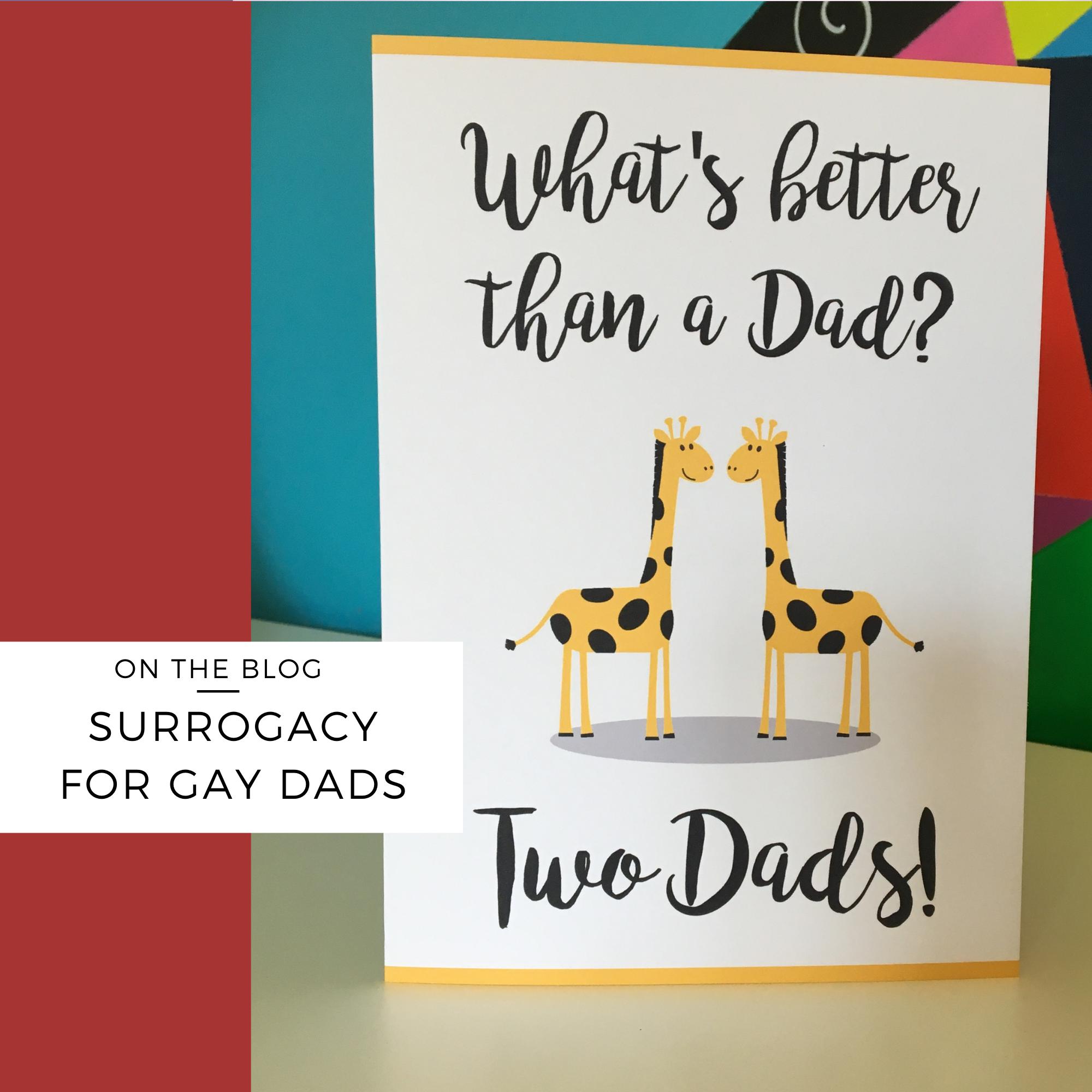 surrogacy gay dad