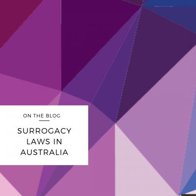 surrogacy laws australia