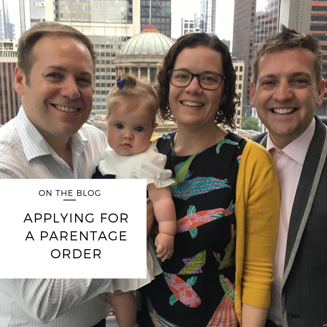 parentage order