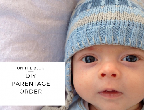 DIY Parentage Order: You Can Do It!
