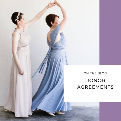 donor agreements