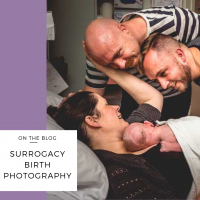 surrogacy birth photography