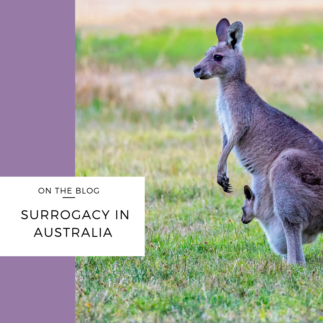is surrogacy legal in australia