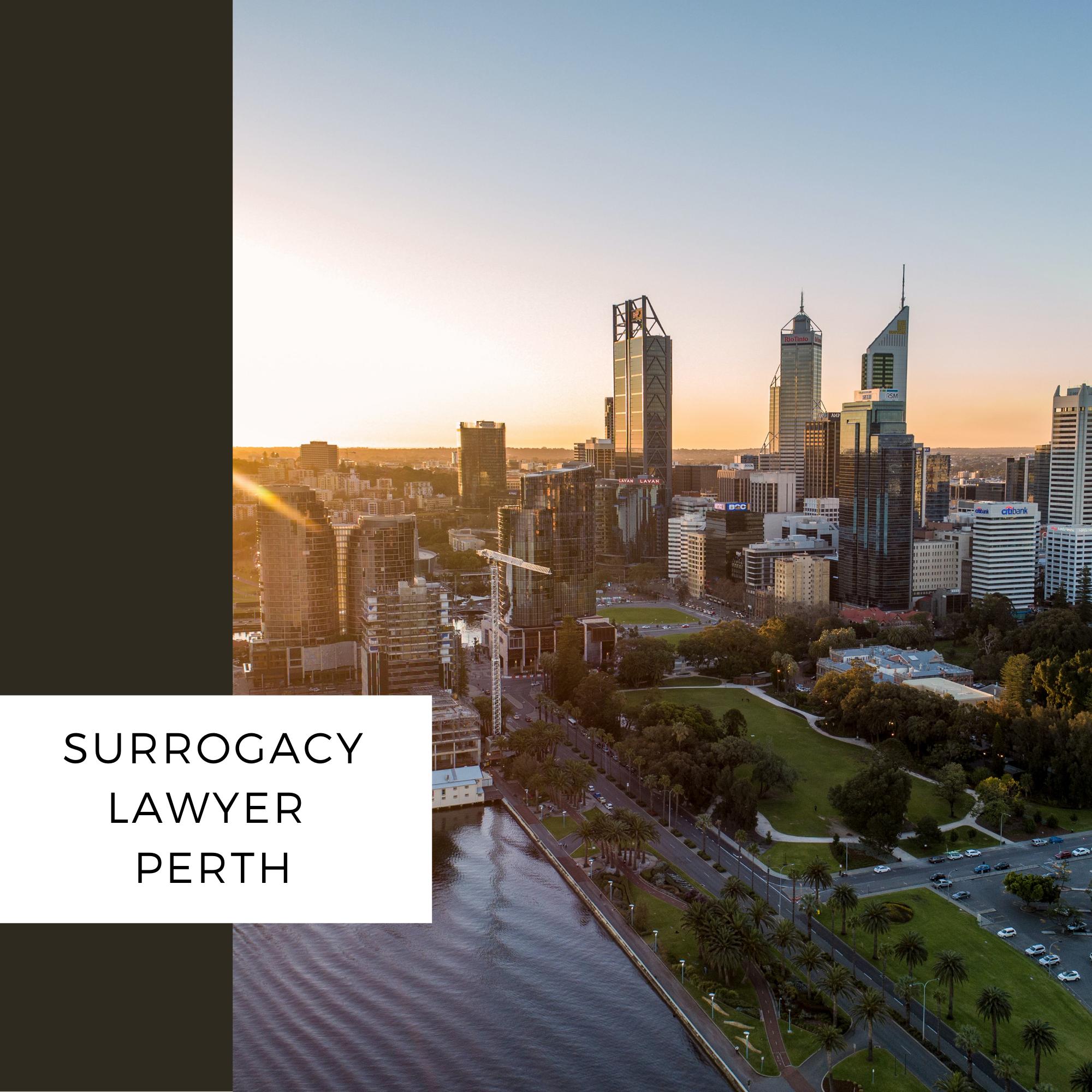 surrogacy lawyer perth