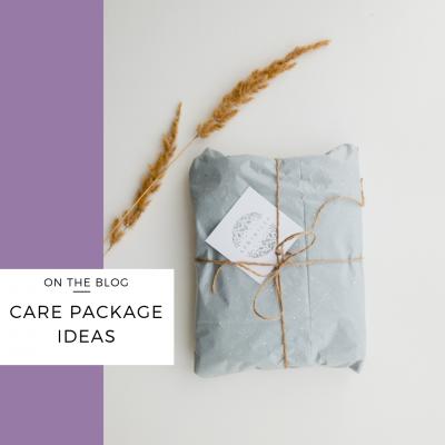 care package ideas surrogates