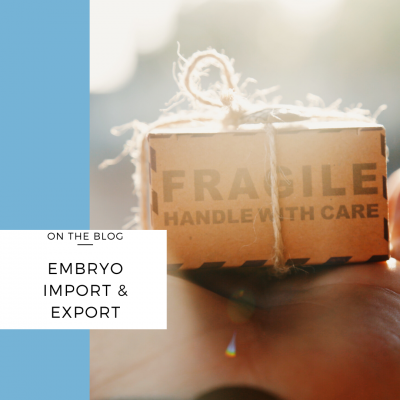 importing and exporting embryos