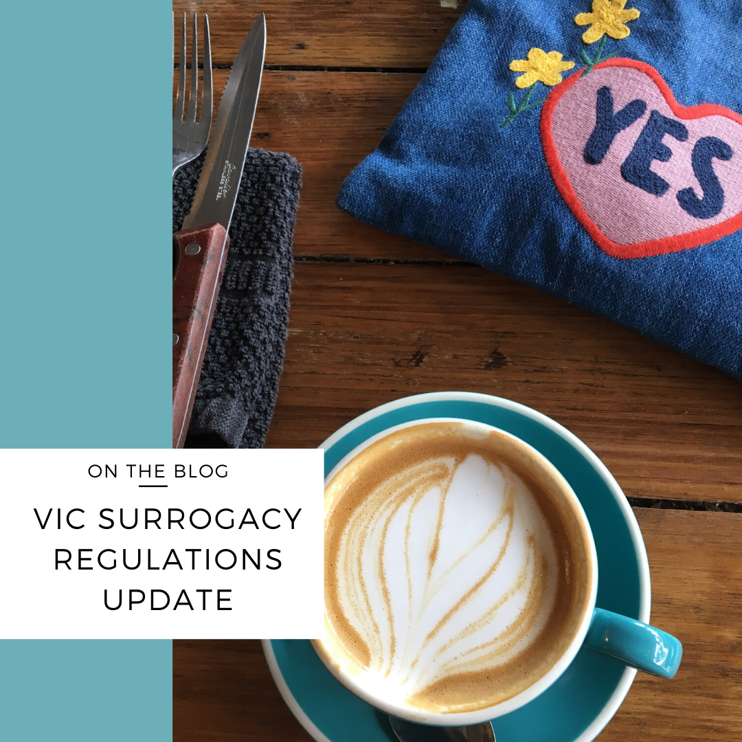 victorian surrogacy regulations