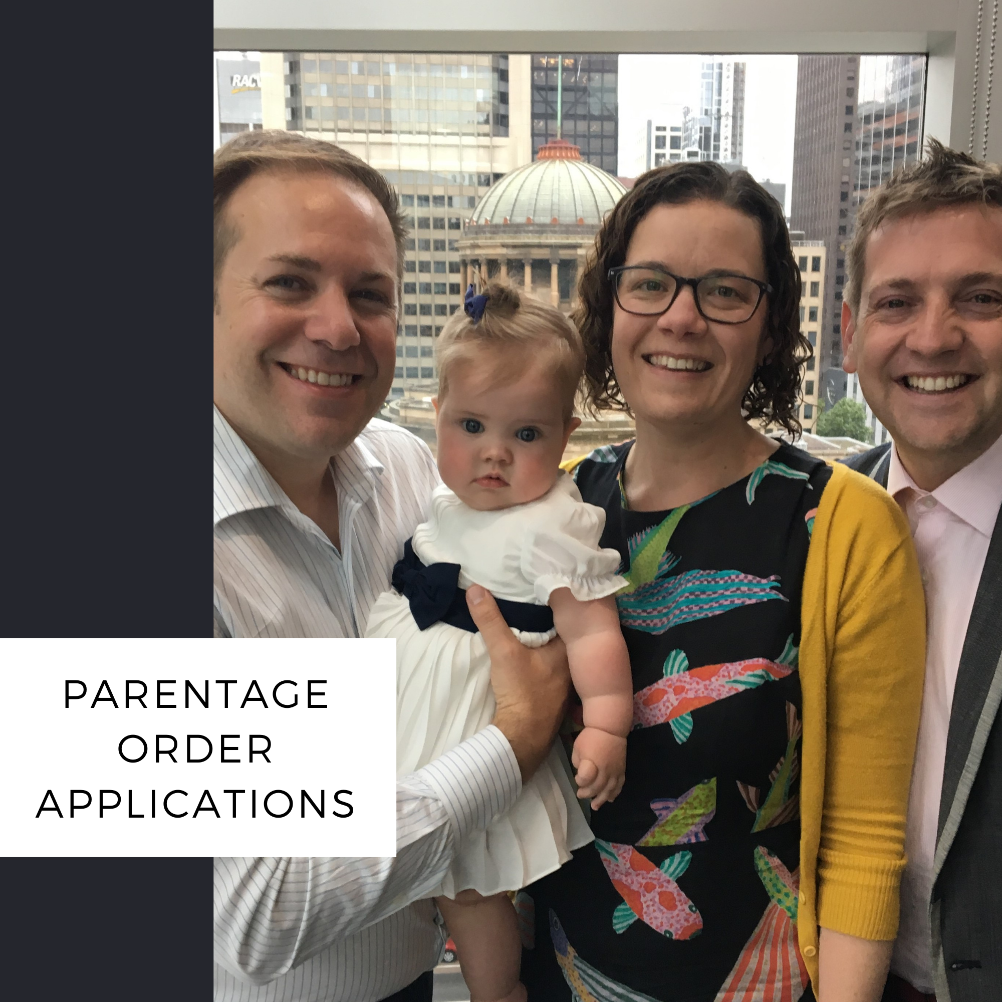 parentage order applications