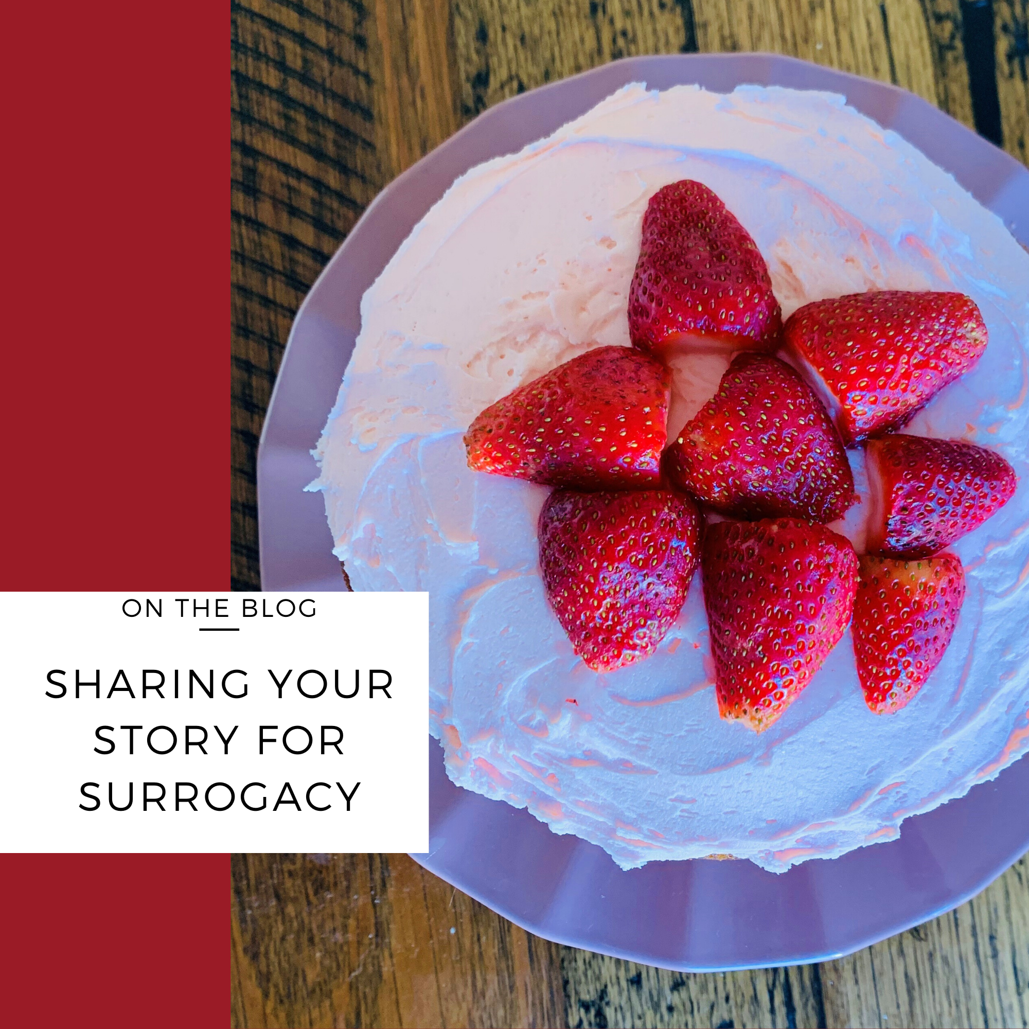 sharing surrogacy story