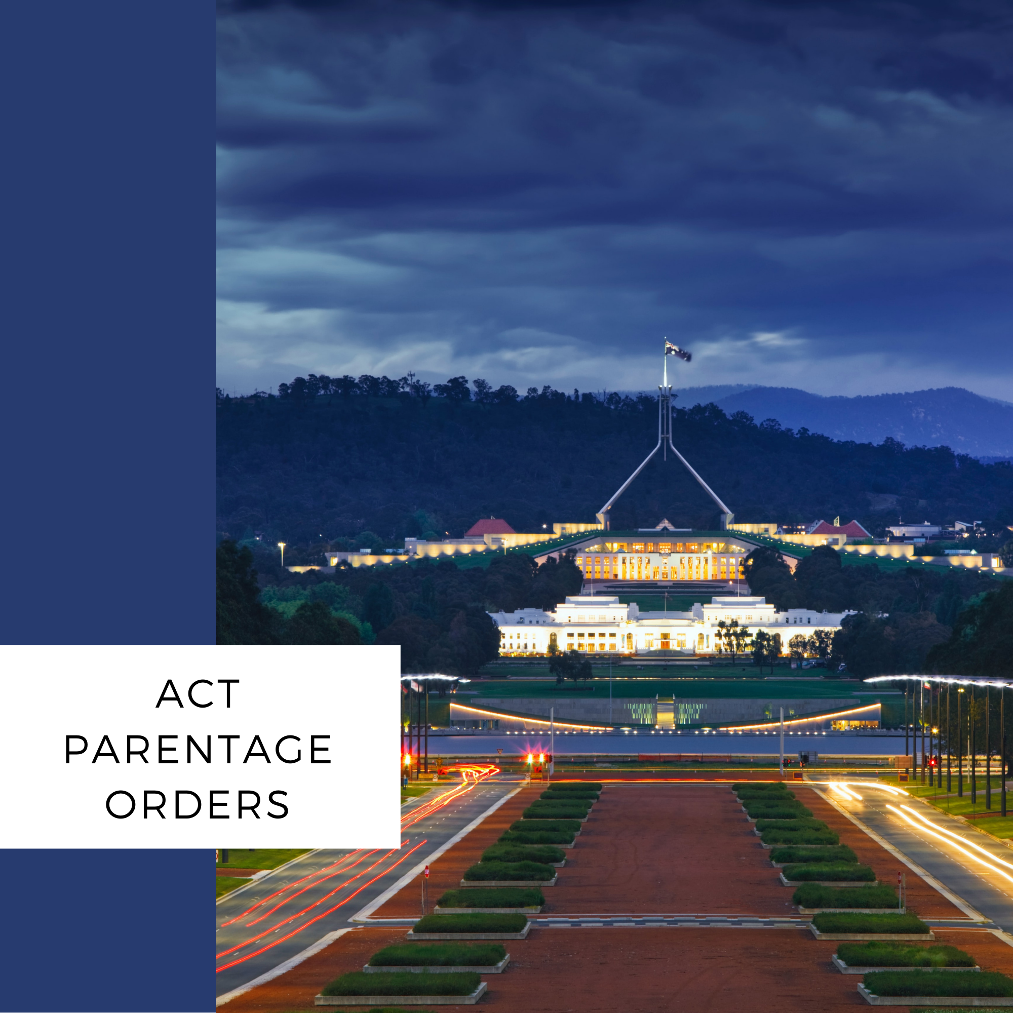 act parentage order